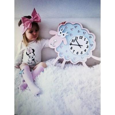 Настенные часы для детской Овечка