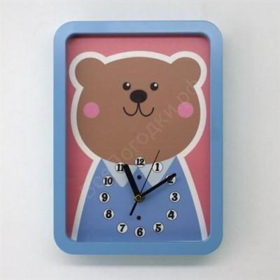 Настенные часы для детской Мишутка