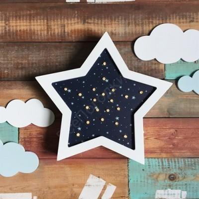 Ночник детский  ЗВЕЗДА звездное небо