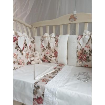 Комплект в кроватку Аделин Luxury