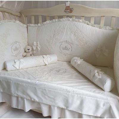 Комплект в кроватку Анхелика ваниль