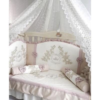 Комплект в кроватку Анхелика персик