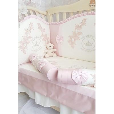 Комплект в кроватку Анхелика роза