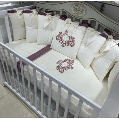 Комплект в кроватку Черри вишня