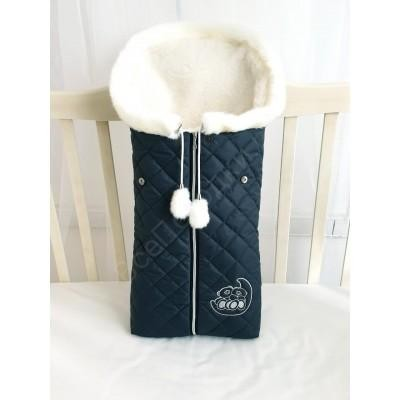 Зимний конверт в коляску Эмми