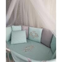 Комплект в кроватку Изумруд