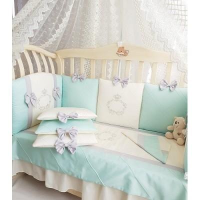 Комплект в прямоугольную кроватку Мари