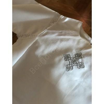 Крестильная рубашка в древнерусском стиле