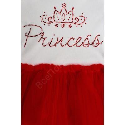 Боди для девочки с юбочкой Принцесса
