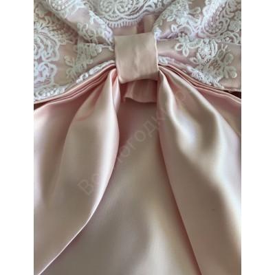 Конверт на выписку МИЛАН нежно-розовый