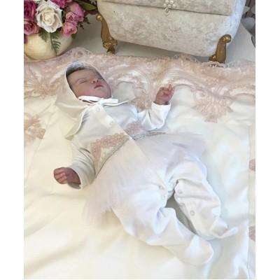 Комплект на выписку Luxury baby Нежная роскошь