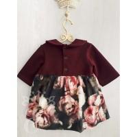 Платье для девочки Пионы