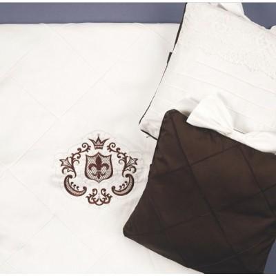Комплект в кроватку Императорский шоколад
