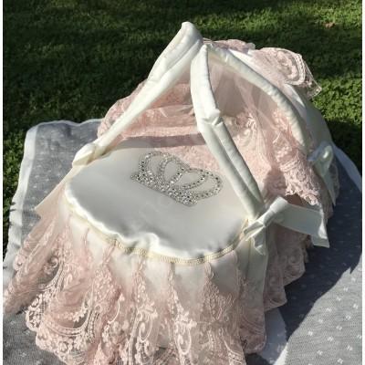 Комплект на выписку Роскошный с платьем Каролина