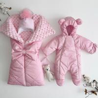 Утеплённый комплект для новорождённых девочек Льдинка