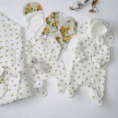 Комплект на выписку для новорождённого Дружба короны