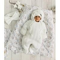 Комплект на выписку для новорождённых Любимка молочный