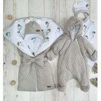 Комплект на выписку для новорождённых Любимка енотик