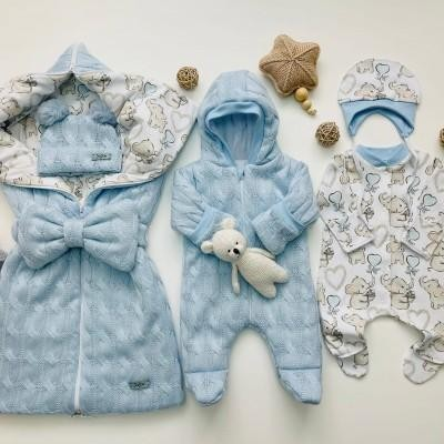 Демисезонный комплект для новорождённого Мамина крошка