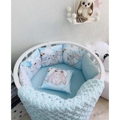 Комплект в детскую кроватку Зайка