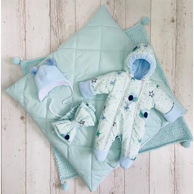 Демисезонный комплект для новорождённого Воздушный шар