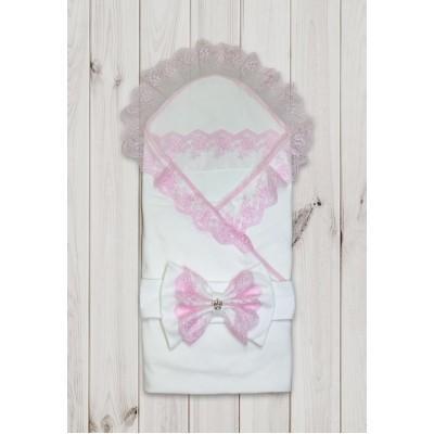 Комплект на выписку для девочки Балерина роз