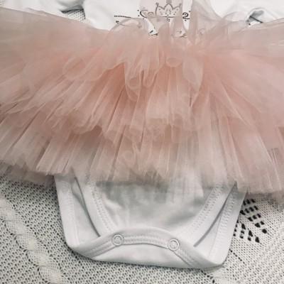 Боди для девочки Принцесса Luxury baby