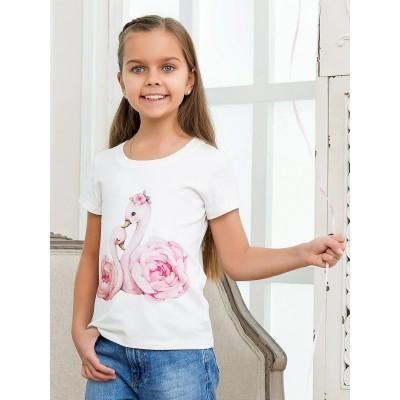 Детская футболка Лебеди
