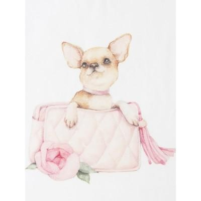 Детская футболка Собачка в сумочке