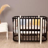 Детская кроватка-трансформер 5в1 Verona венге