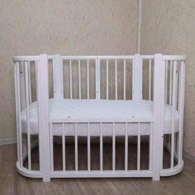 Детская кроватка Mika Marita белая