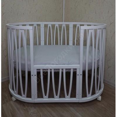 Детская кроватка Mika Vanetta