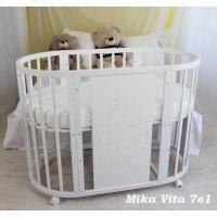 Детская кроватка Mika Vita 7в1