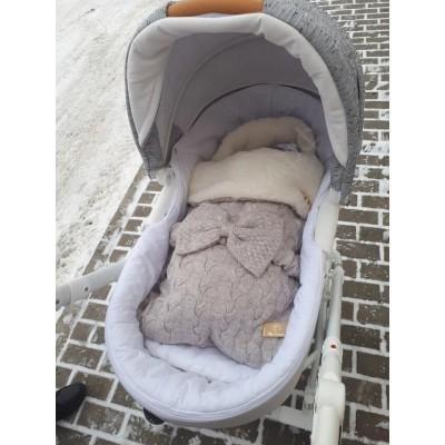Конверт меховой Ma Licorne Mouton gris
