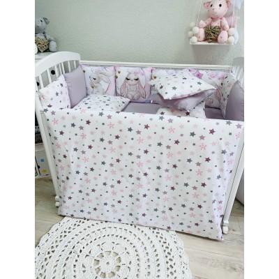 Комплект в кроватку Зайчонок