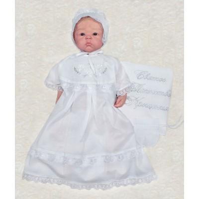 Крестильное платье для девочки Агнесс