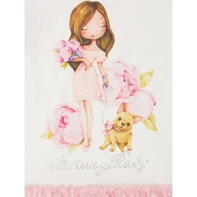 Платье для девочки Девочка с собачкой