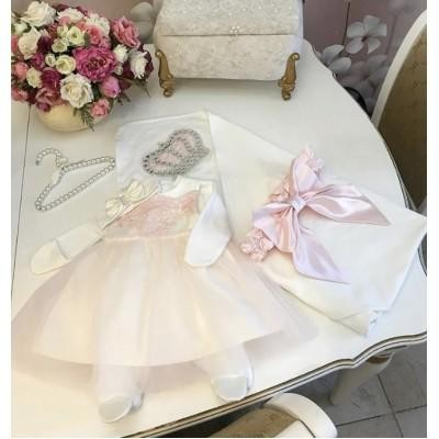 Комплект на выписку Luxury baby Императрица Каролина
