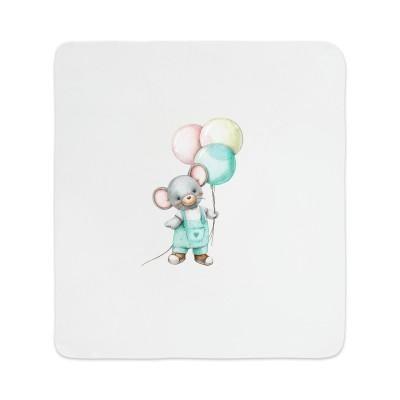 Комплект для новорождённого 5 предметов Мышонок с шариками