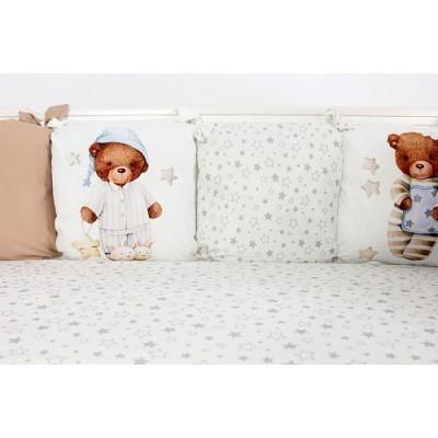 Комплект в кроватку Пижамная вечеринка